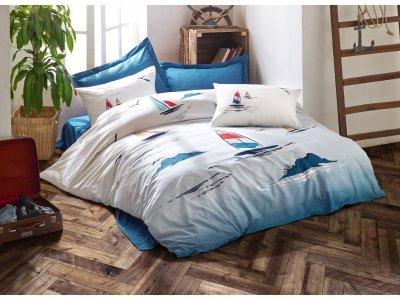 Постельное белье Cotton Box - Neta, евро комплект