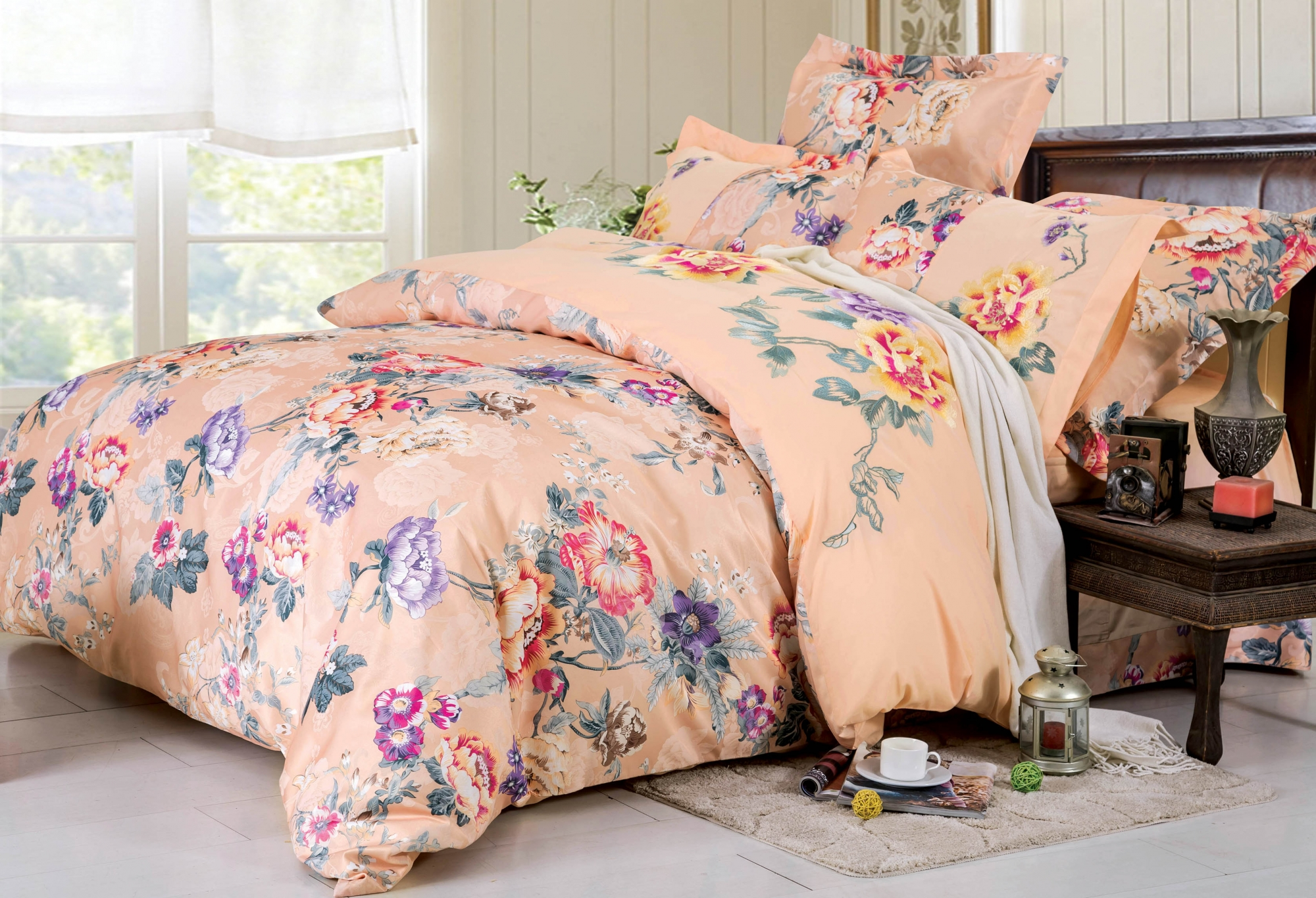 Выбор постельного белья: акцент на материал